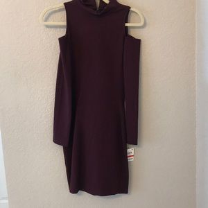 Bar III long sleeve bodycon dress